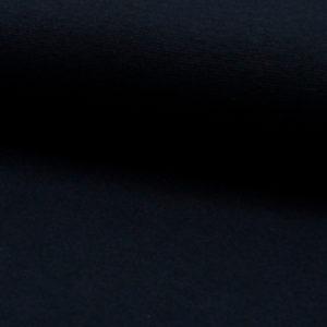 Tela de puño o canalé color azul marino navy