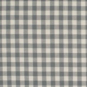 Tela de algodón tipo Vichy para patchwork color gris