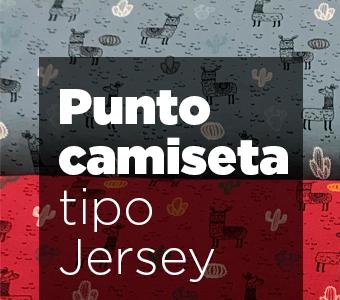 Punto camiseta tipo Jersey totatela venta online