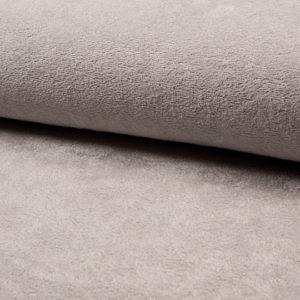 Tela de rizo de bambú o toalla color gris