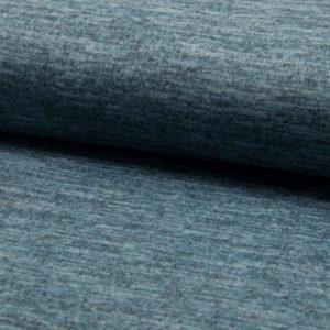 Tela de punto de entretiempo tipo Jersey color azul