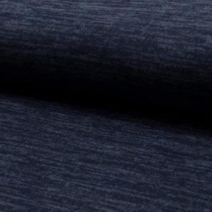 Tela de punto de entretiempo tipo Jersey color azul navy