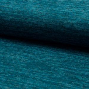 Tela de punto de entretiempo tipo Jersey color petrol