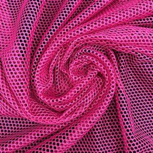 Tela de forro de malla de bañador o conocido como mesh color fucsia