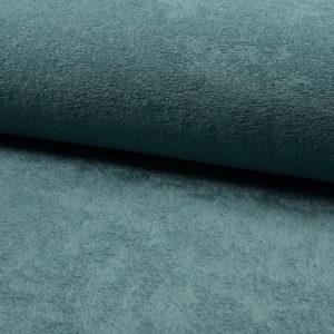 Tela de rizo de bambú o toalla color petrol