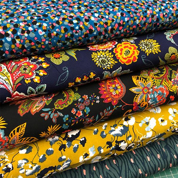 Variedad en telas de viscosa para el verano en totatela granollers
