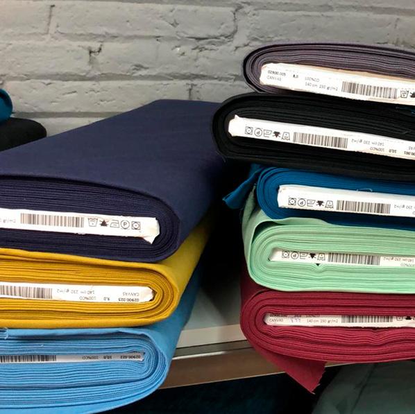 Loneta de algodón lisa venta online Totatela Granollers