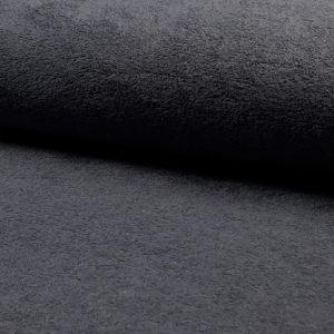 Toalla rizo de bambú gris oscuro