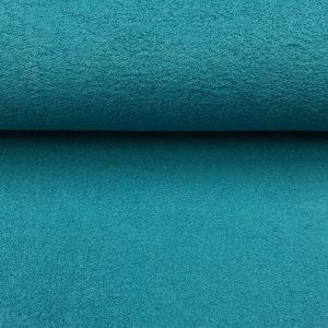 Toalla rizo de algodón color petrol
