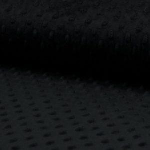 Minky mint para confecciones de invierno con moteado en relieve