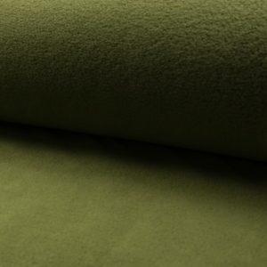 Tela de forro polar de luxe color caqui