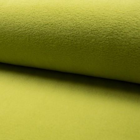Tela de forro polar de luxe color verde