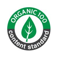 Certificado de tejido orgánico ORGANIC 100