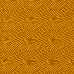 Tela de punto de camiseta de algodón orgánico tipo Jersey estampado animal print zebra ocre