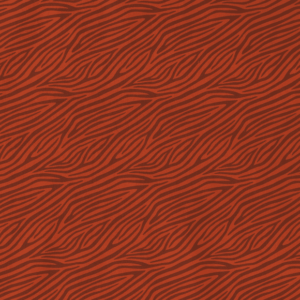Tela de punto de camiseta de algodón orgánico tipo Jersey estampado animal print zebra teja
