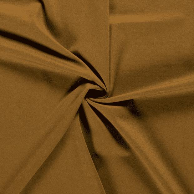 Tela de punto roma lisa color ocre