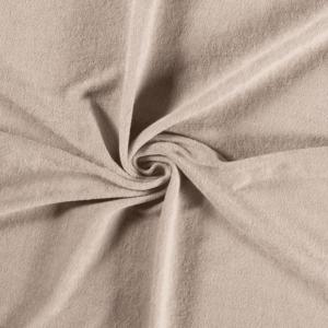 Toalla rizo de punto de algodón color beige