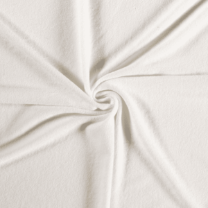 Toalla rizo de punto de algodón color crudo