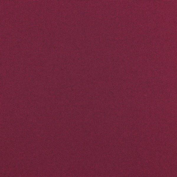 Tela de loneta lisa de algodón 100% color burdeos