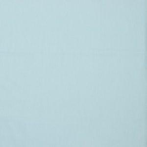 Tela de popelín de algodón orgánico para creatividades de patchwork en color liso azul claro