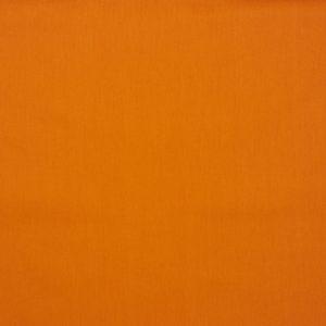 Tela de popelín de algodón orgánico para creatividades de patchwork en color liso naranja