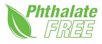 Logotipo de libre de ftalatos