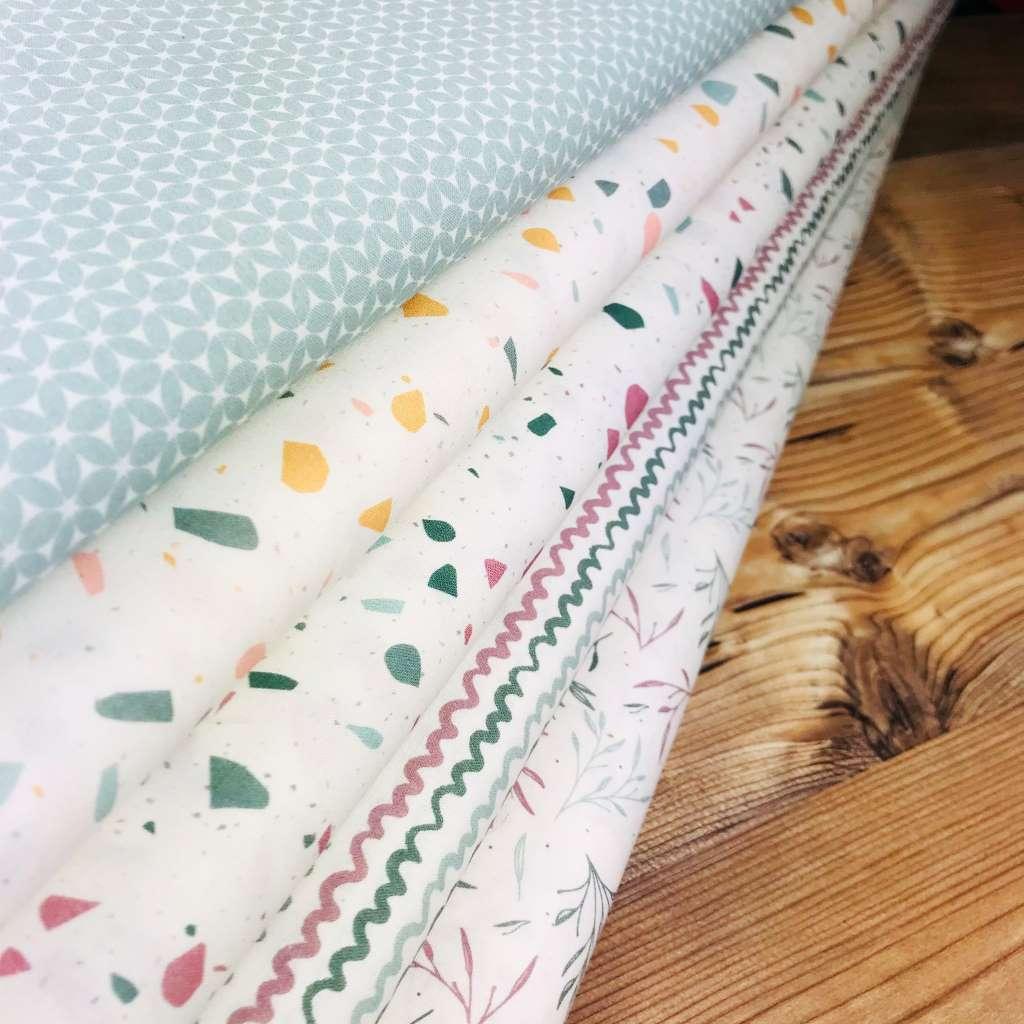 Algodón popelín de algodón para creatividades de patchwork