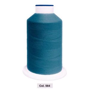 Hilo GUTERMANN ORA 120. Coselotodo color azul acero 564