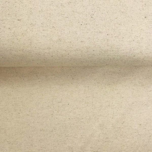 Loneta con lino recubierta con teflón, robusta color natural