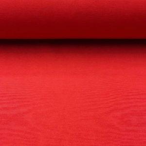 Loneta lisa roja. Tejido muy versátil para todo tipo de confecciones para el hogar.