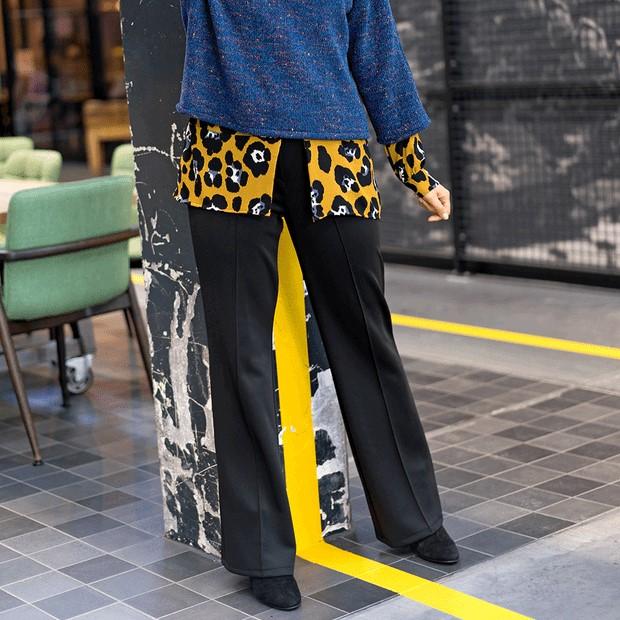 Punto de neopreno negro, tejido ideal para pantalones, abrigos, chaquetas y mascarillas